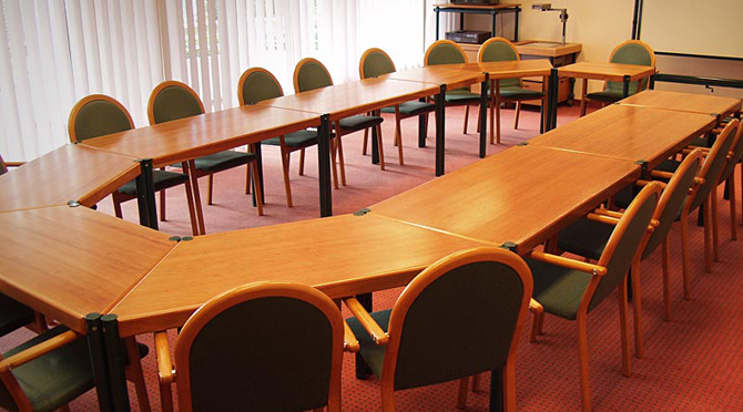 Conference room - desks and chairs